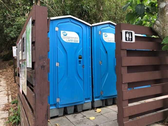 ドラゴンズバックの簡易トイレ