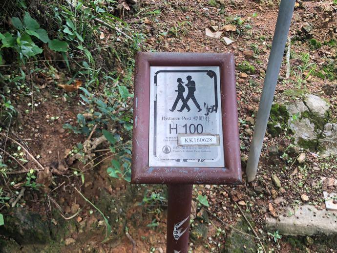 ドラゴンズバックの標識100