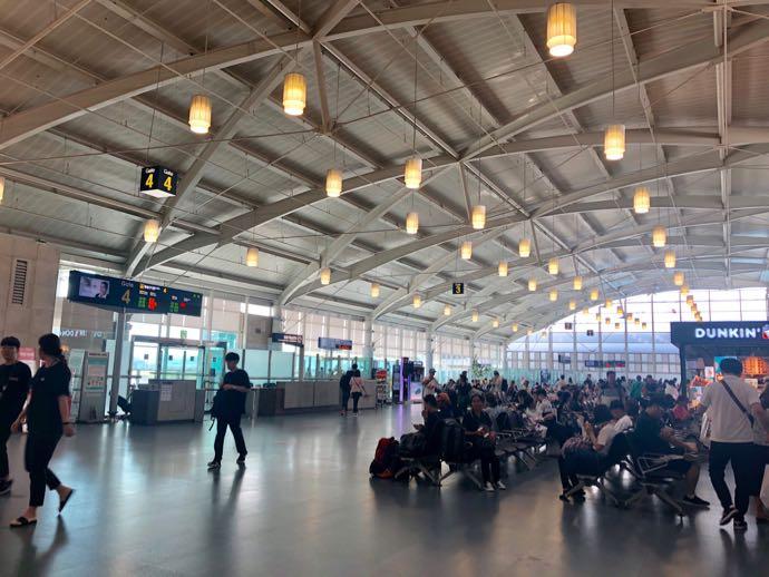 釜山空港 金海国際空港