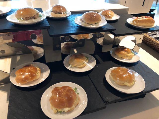 MINGALAR SKY LOUNGE ヤンゴン ミャンマー RGN ラウンジ プライオリティパス ハンバーガー
