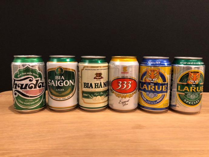 ベトナムビール6本