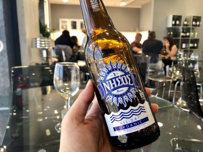 ギリシャの瓶ビール