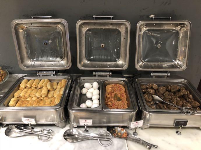 Comfort Lounge イスタンブール アタテュルク国際空港 プライオリティパスで無料 ラウンジ おすすめ 軽食