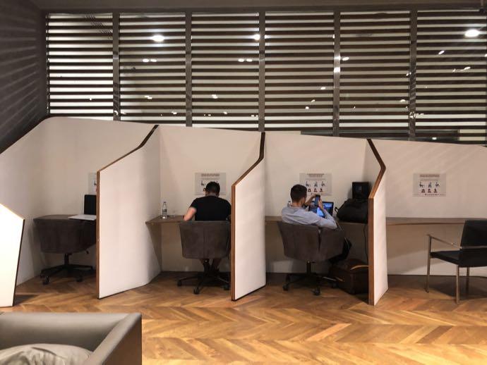 Comfort Lounge イスタンブール アタテュルク国際空港 プライオリティパスで無料 ラウンジ おすすめ ワークスペースあり