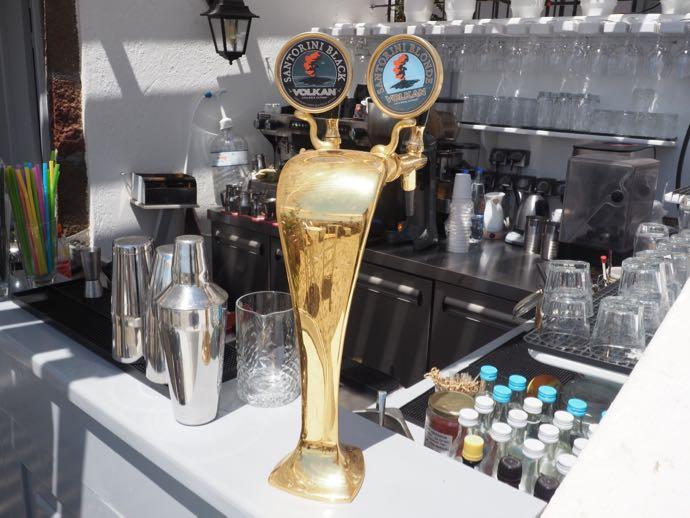 VOLKANビールのサーバー