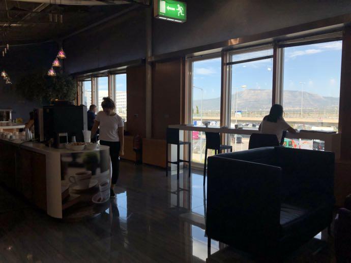 Skyserv Melina Merkouri Lounge ATH アテネ国際空港 ラウンジ プライオリティパスで無料 ワークスペース