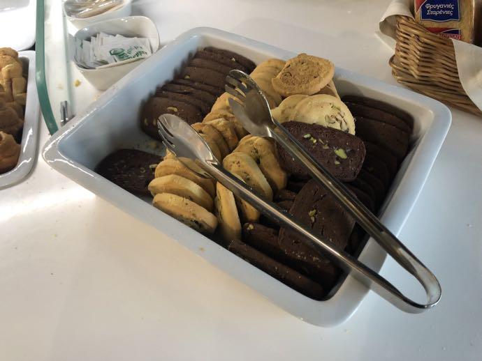 Skyserv Melina Merkouri Lounge ATH アテネ国際空港 ラウンジ プライオリティパスで無料 クッキー