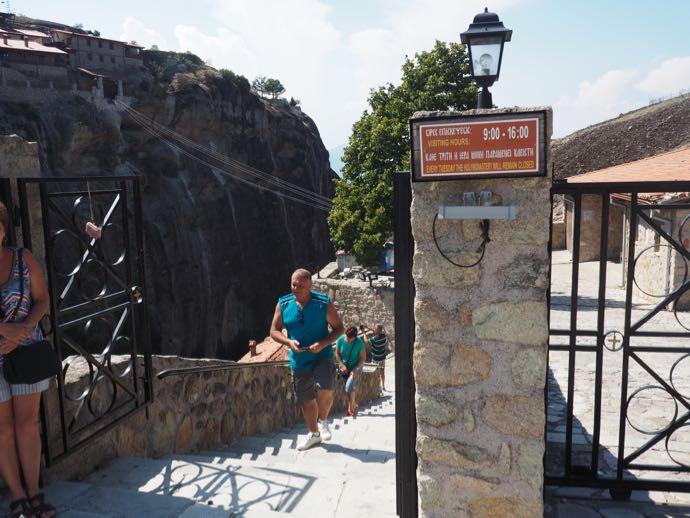 メガロ・メテオロン修道院の門