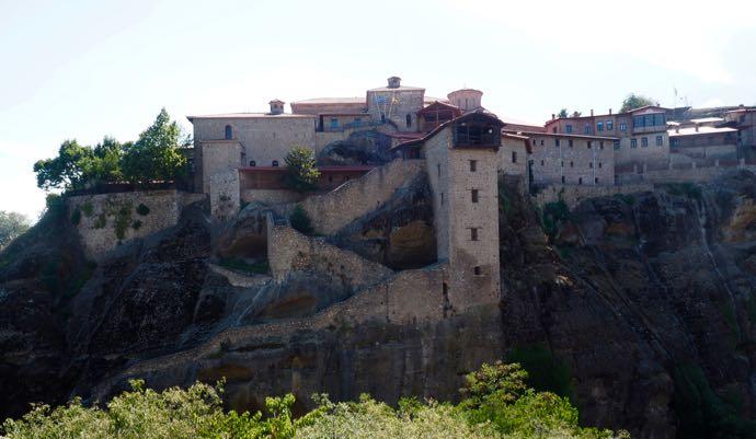 メガロ・メテオロン修道院の全景
