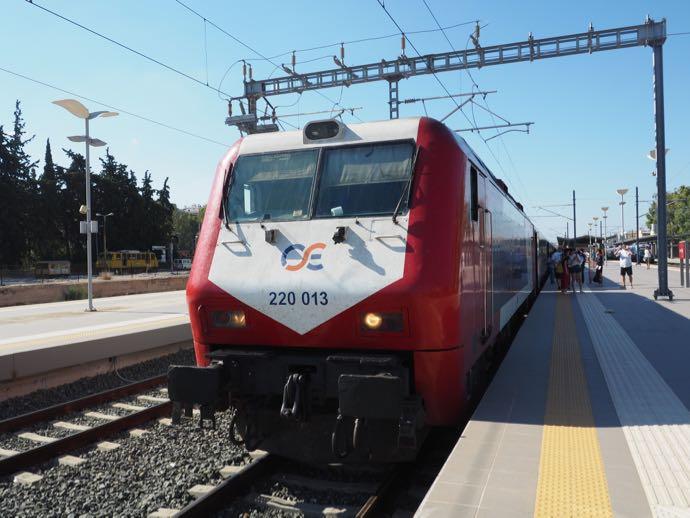 ギリシャ鉄道のボディ