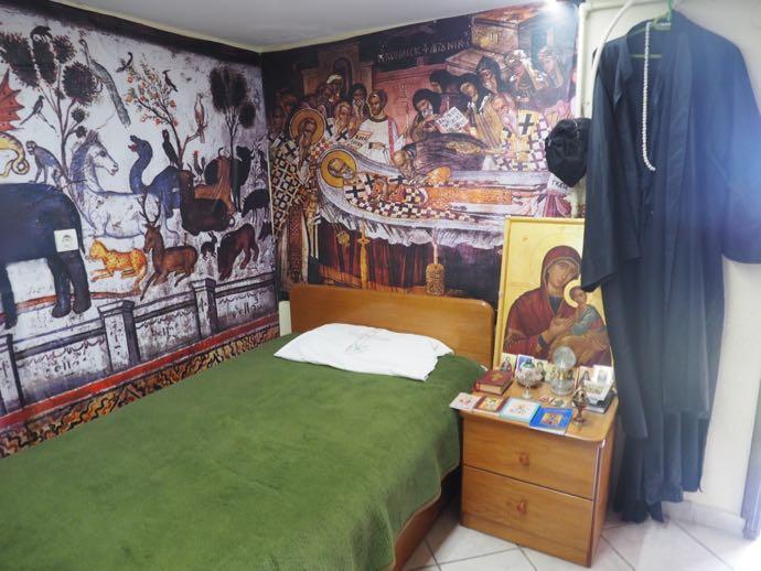 修道士の部屋