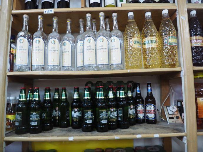 お酒の陳列棚