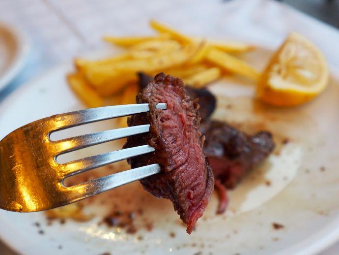 赤みが美味しい牛肉フィレステーキ