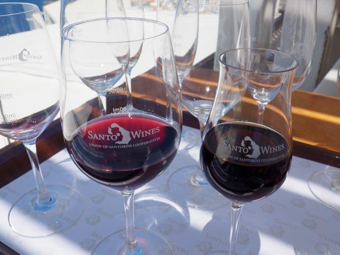 渋目の赤ワイン
