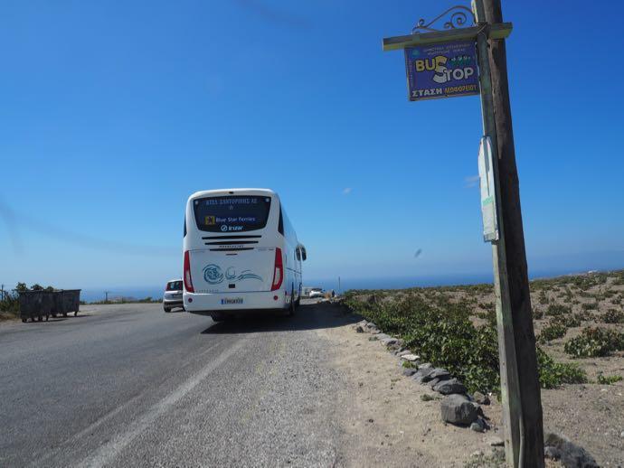 ワイナリーの最寄りのバス停
