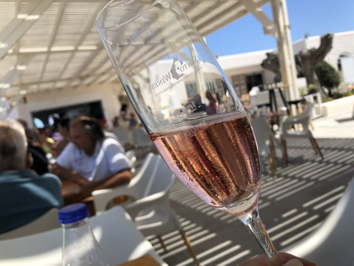 ロゼ・スパークリングワイン