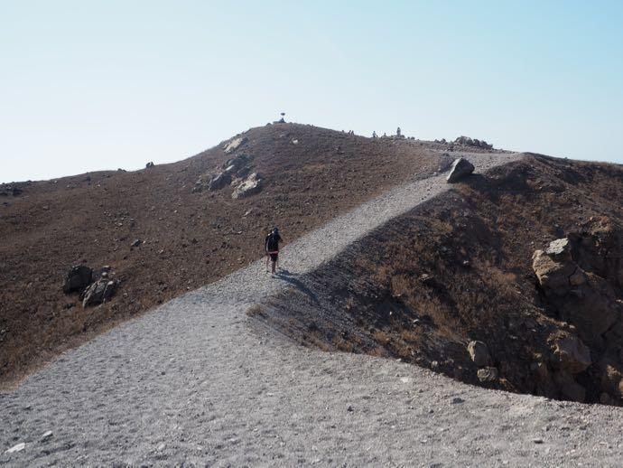 火山のルート