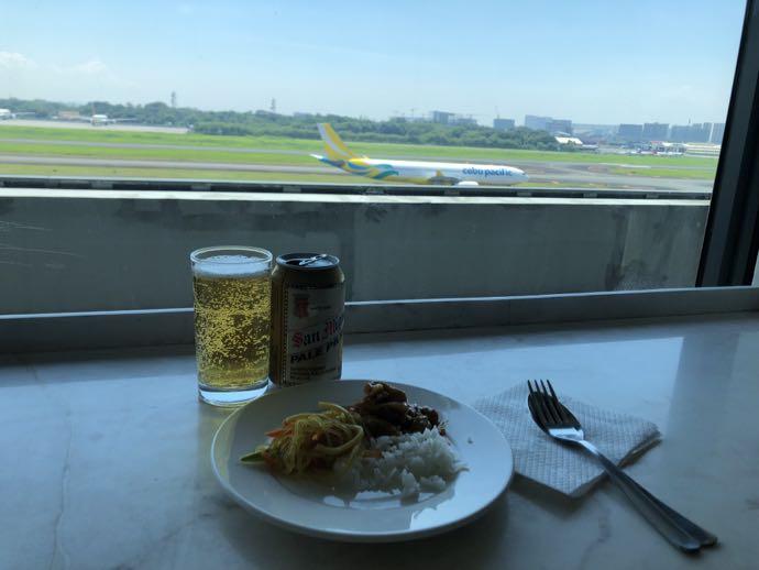 ニノイ・アキノ空港のSKY VIEW LOUNGE