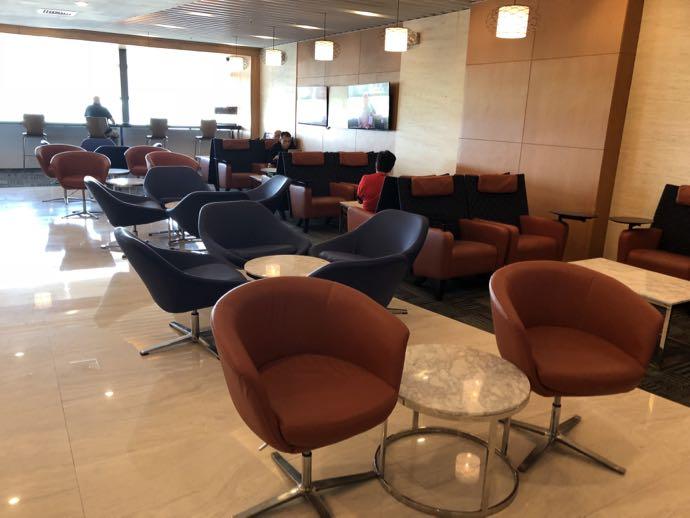 ニノイ・アキノ空港のPACIFIC CLUB LOUNGE