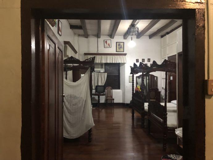 邸宅ホテルの個室