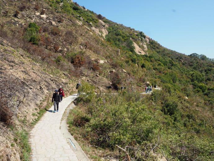ラマ島のトレイルコース
