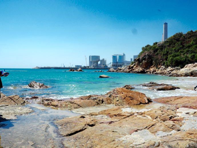 南丫(ラマ)島の綺麗なビーチ
