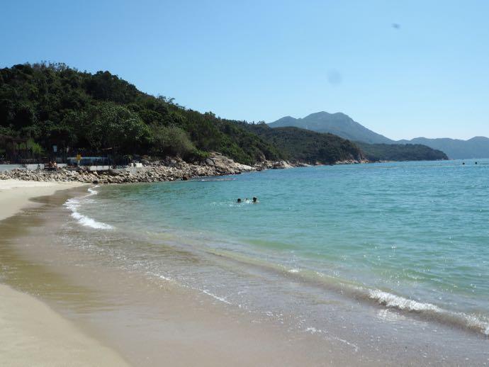 洪聖爺灣泳灘の美しいビーチ