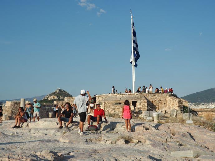 パルテノン神殿の展望台