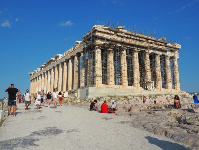 荘厳なパルテノン神殿
