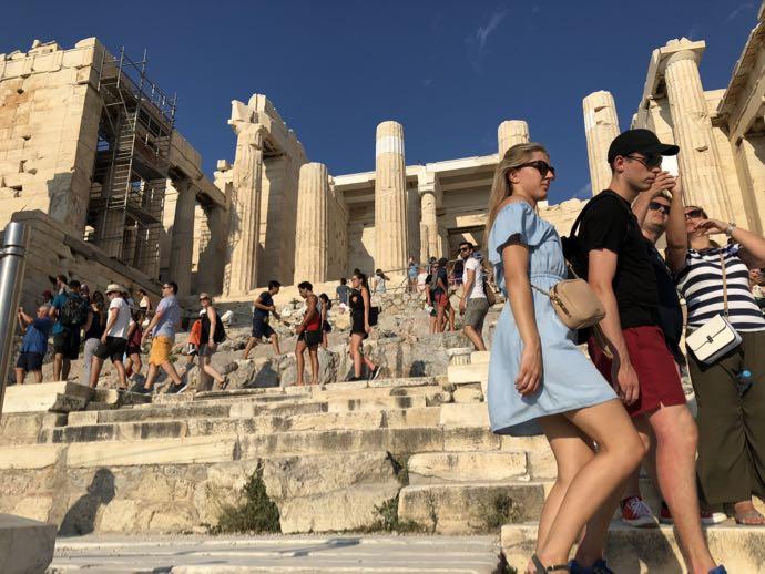 パルテノン神殿の前門