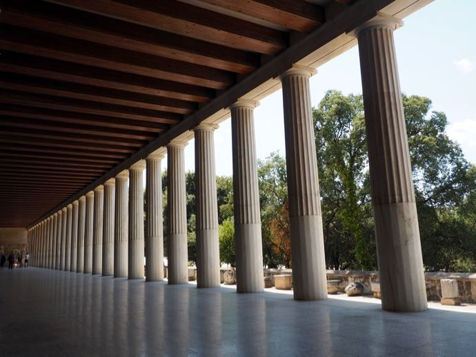 古代アゴラの博物館