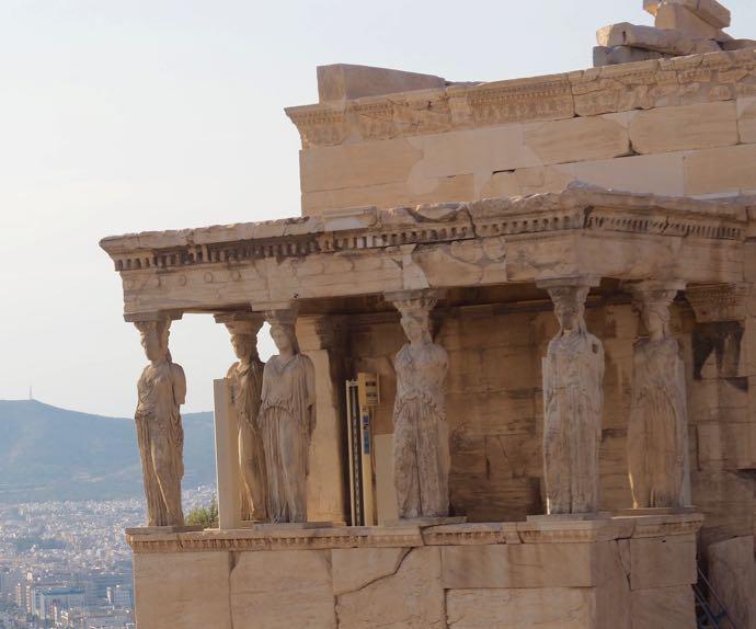 パルテノン神殿のエレクティオン