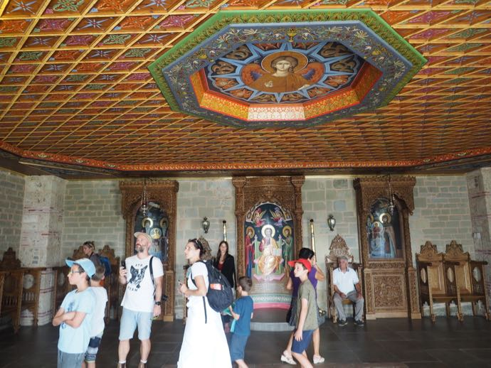 聖堂の入り口