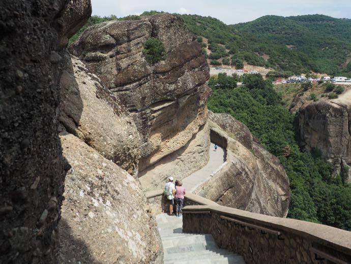 ヴァルラーム修道院の階段