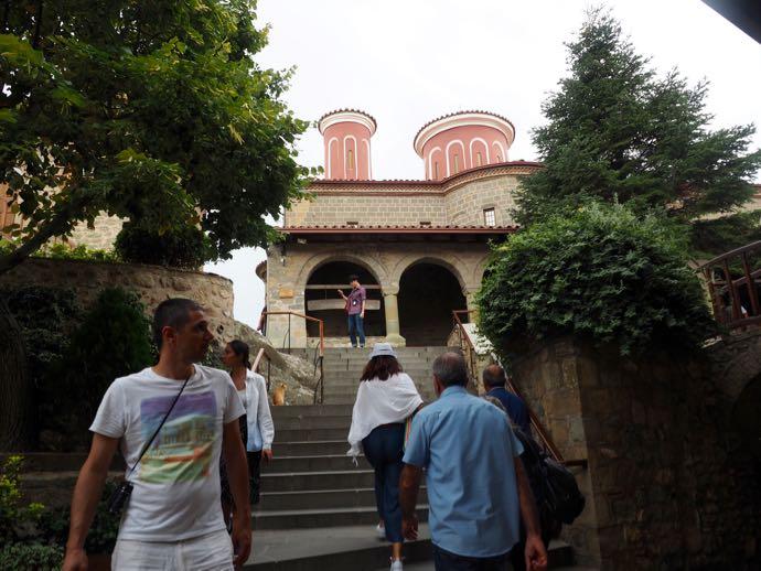 アギオス・ステファノス修道院の内部