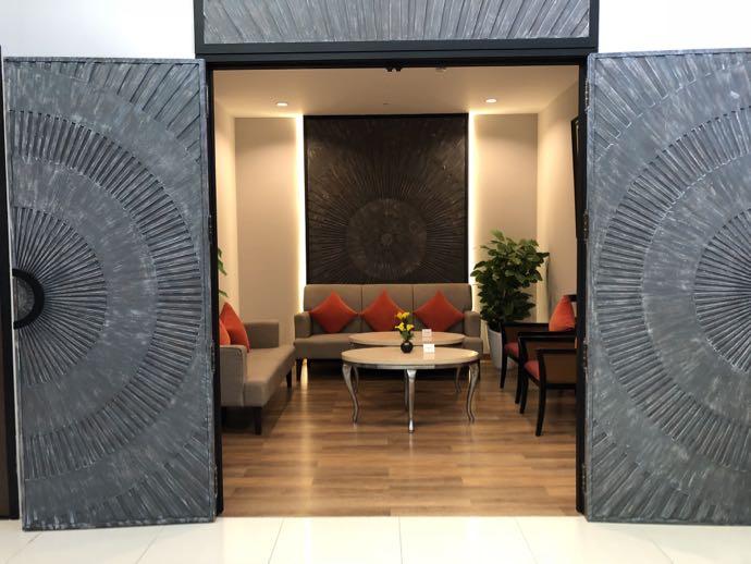 バンコク・ドンムアン国際空港 Miracle Lounge2の団体部屋