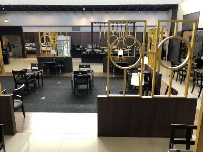 バンコク・ドンムアン国際空港 Miracle Lounge2の座席数たくさん