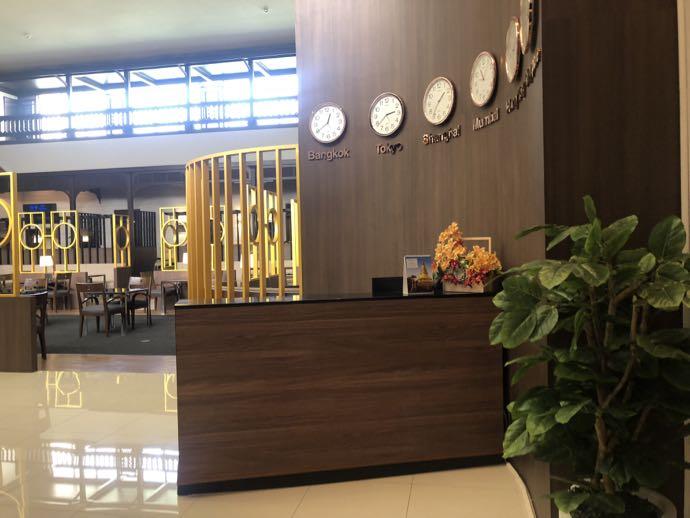バンコク・ドンムアン国際空港 Miracle Lounge2のエントランス