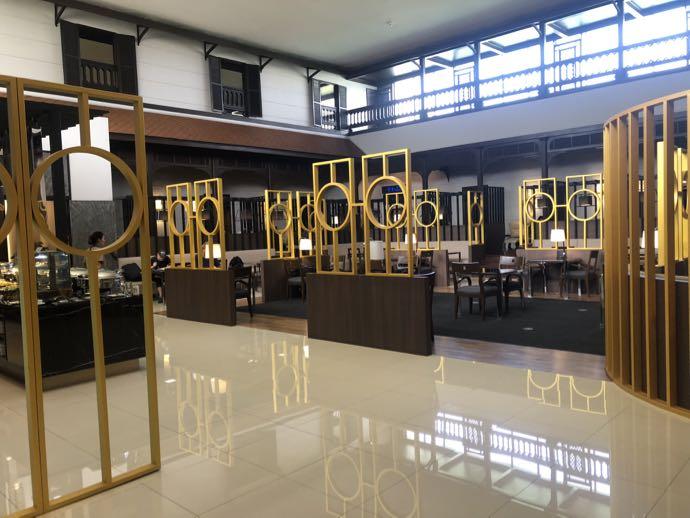 バンコク・ドンムアン国際空港 Miracle Lounge2の広々空間