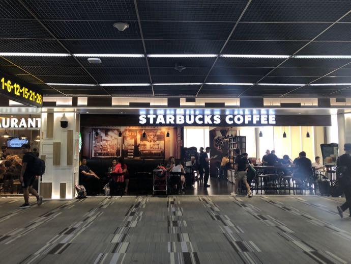 バンコク・ドンムアン国際空港のスターバックス