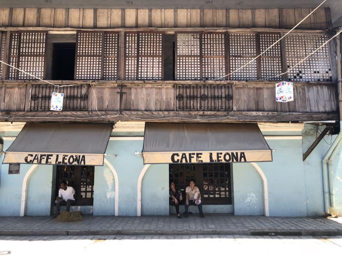 CAFE LEONAの外観