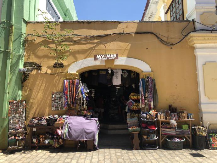 ビガンの土産物店