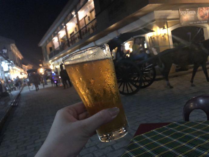 サンミゲルで乾杯〜