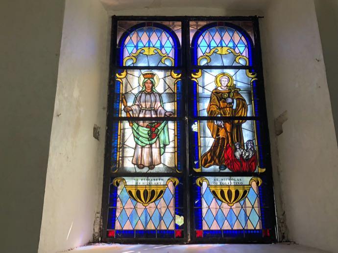 聖ポール聖堂のステンドグラス