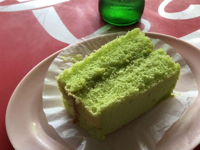 注文したケーキ