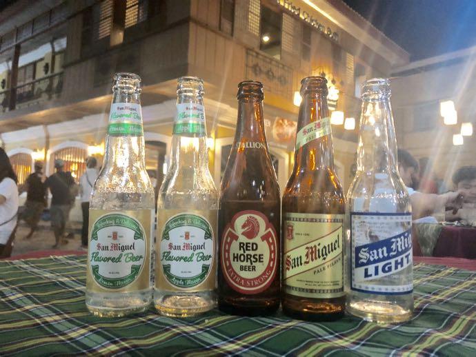 サン・ミゲル社ビール揃い踏み