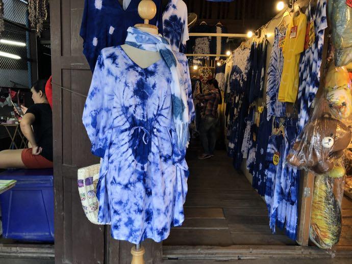 タイダイの洋服店