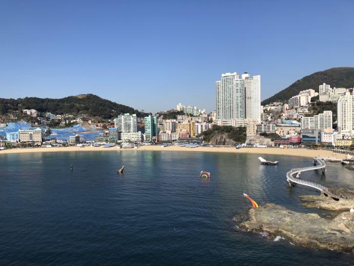 松島海水浴場も一望できる