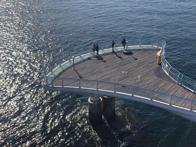 空から見た松島スカイウォーク