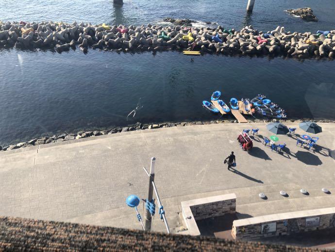 松島海水浴場の地上